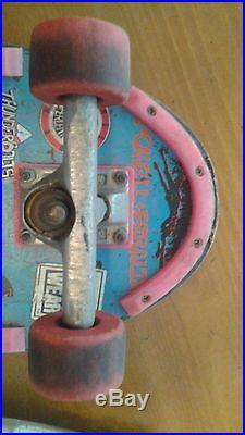 EXTREMELY RARE Lance Mountain MINI! Complete Powell Peralta Skateboard 80's era