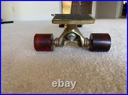 Fibreflex g s skateboard vintage double cutaway Gullwing TrucksRoad Rider wheels