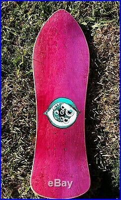 G&S Nicky Guerrero Full Size Nos 80s Vintage Skateboard Deck