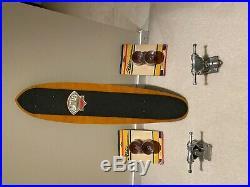 G s skateboard fibreflex vintage Road Rider vintage Gullwing skateboard trucks