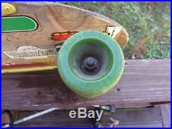 Genuine 1981 G&S Micke Alba Concave Model Skateboard OLD Kryptonics MAKE OFFER