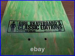 Girl Skateboards Rick Howard Skateboard Deck Dick & Jane Plan B