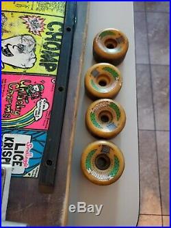 Gordon & Smith G&S 80's vintage skateboard deck Street Chomp Skate board Trucks