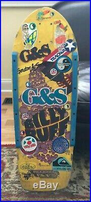 Gordon and Smith Billy Ruff Chalice Vintage Skateboard