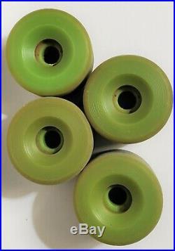 Green Sims Snakes Skateboard Wheels Vintage