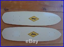 Hobie skateboard deck vintage 1975 fibreglass kicktail new never used 27L $200
