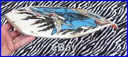 JEFF GROSSO DEMON Santa Cruz Vintage Skateboard Deck Powell Sims Vision