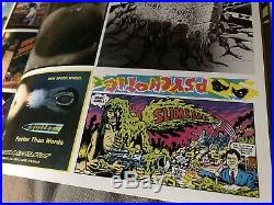 JIM PHILLIPS ART ORIGINAL Sketch COA Santa Cruz Vintage Skateboard signed