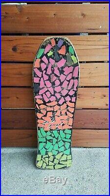 Jeff Grosso Exploding Toy Box 1980's Original Santa Cruz Skateboard Complete