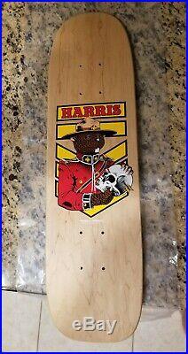 KEVIN HARRIS BEAVER POWELL PERALTA Original vintage nos freestyle skateboard OG