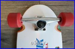Kryptonics U. S. A. Krypstik Skateboard Deck old school Good Condition