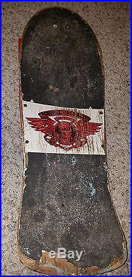 Lance Mountain Powell Peralta old school vintage skateboard deck rare awesome