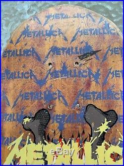 Metallica Zorlac 1989 Pushead Vintage 1989 Chop-Stix