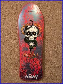Mike McGill Powell Peralta Skull NOS NOT REISSUE skateboard vintage XT