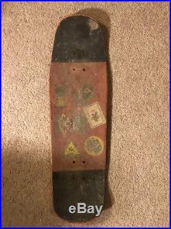 Mike Vallely World Industries Slick vintage skateboard Powell vision not reissue