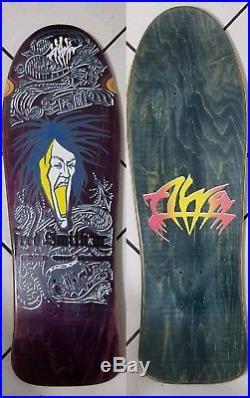 Mint Vintage ALVA Fred Smith Loud One III 80's Skateboard Original