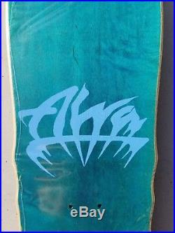 NOS Alva Craig Johnson El Loco Gringo cry baby skateboard deck rare vintage 80's