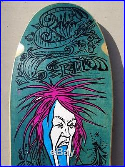 NOS Alva Fred Smith III Loud One Model skateboard deck rare vintage 80's Tony