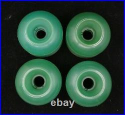 NOS Blue G&S Yoyo Skateboard Wheels Set of 4 Gordon & Smith Vintage 1970's