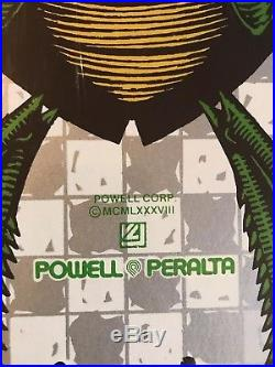 NOS Copyright 1980 Powell Peralta Bug Deck Skateboard Deck-Still Wrapped