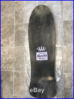 NOS H Street Matt Hensley King size Hornblower Vintage Skateboard Autographed