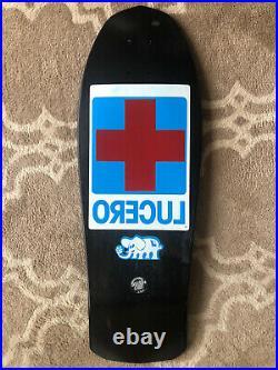 NOS John Lucero Ltd Vintage Skateboard Deck NHS Schmitt Grosso Black Label Natas