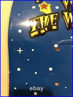 NOS Mad Circle Skateboard 1997 Team Deck