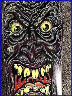 NOS OG Santa Cruz Rob Roskopp Blacktop Face Skateboard Deck 1986 NOT A REISSUE