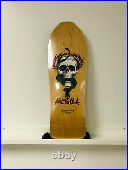 NOS ORIGINAL 1980's POWELL PERALTA MIKE MCGILL VINTAGE SKATEBOARD SKATE DECK