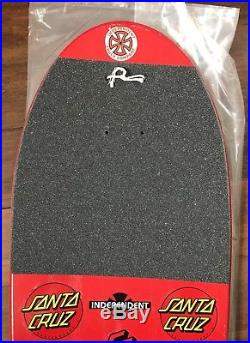 NOS Original Vintage Santa Cruz Duane Peters mini pro model skateboard SMA Hosoi