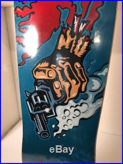 NOS Pocket Pistols 38 Hammerhead Skateboard Deck In Shrink Wrap Hosoi