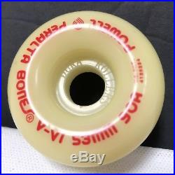 NOS Powell Peralta Skateboard Freestyle Size Wheels BONES V-VI 53mm 90A Vintage