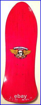 NOS Powell Peralta Steve Saiz Skateboard Deck HOT PINK-VERY RARE NEW IN SHRINK