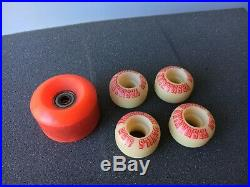 NOS Vintage 90s Skateboard Wheels New School Tasmanian Devils 41mm