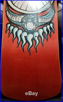 NOS Vintage Blockhead Sam Cunningham Snake Eye Skateboard Deck OG