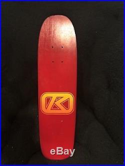 NOS Vintage Kryptonics Krypstik Freestyle Skateboard Deck. OG Original