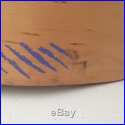 NOS Vintage Powell Peralta Tony Hawk Medallion mini skateboard deck. HARD TO FIND