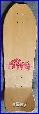 NOS Vintage oldschool ALVA Craig Johnson El Loco Gringo tri tail skateboard deck
