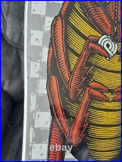 NOS Vintage powell peralta skateboard Xt Boneite Bug In Shrink