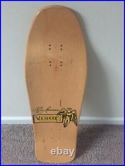 NOS Vision Kele Rosecrans mini Saint Model Skateboard Deck Rare vintage