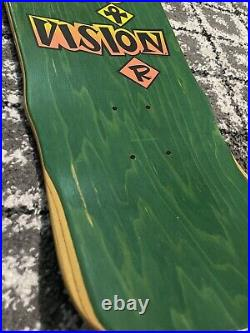 NOS vision gator skateboard deck Super Rare. Amazing Shape
