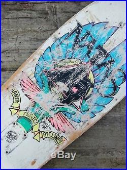 Natas kaupas Vintage Santa Monica Airlines skateboard Deck