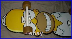 New Santa Cruz The Simpsons Homer Simpson Complete Skateboard Rare