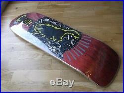 Nos Santa Cruz Jeff Kendall Wolf Skateboard Deck Cruz Missile II 2
