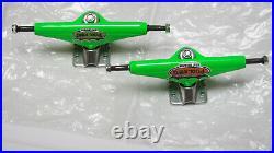Nos Tracker Trucks Six Track Pool King Limited Edition Green Skateboard Trucks