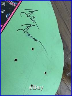 Nos vintage UBER Rare JFA punk Skateboard Signed by current band members