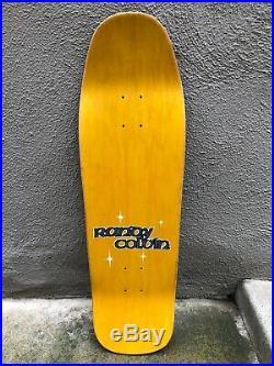 OG NOS Vintage 1991 World Industries randy colvin Velvet Safari Skateboard