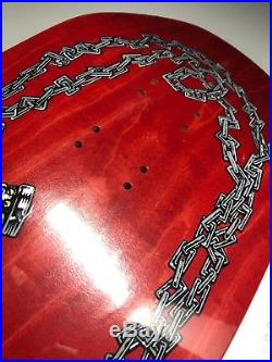 OG Nos 89 Powell Peralta Ray Underhill CROSS Vintage skateboard Deck shrink wrap