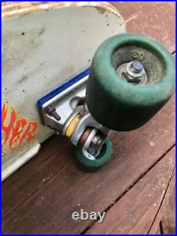 OG Santa Cruz Meek Slasher Skateboard complete deck-OG Simms Wheels-Indep trucks
