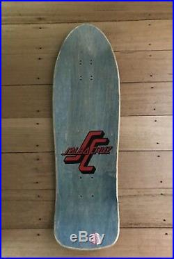 OG Vintage Steve Alba Stomping Baby Santa Cruz Skateboard Deck